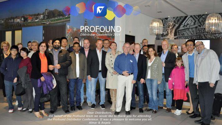 平博app科技受邀参加荷兰Profound代理商交流会