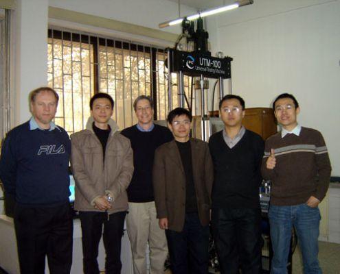 2005年山东交通科学研究所SPT及UTM调试成功