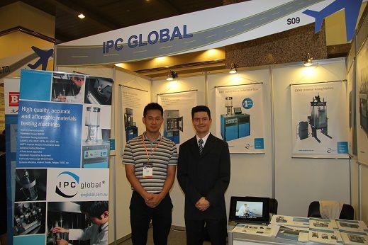 201307平博app科技携手ipc参加第八届国际路面技术峰会