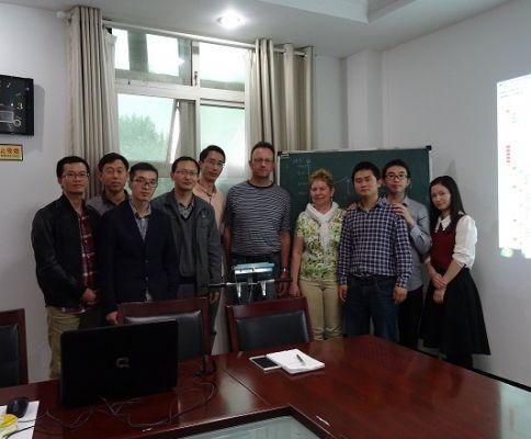 安徽省水利部淮委水利科学研究院HF SENSOR微波测试系统培训顺利结束