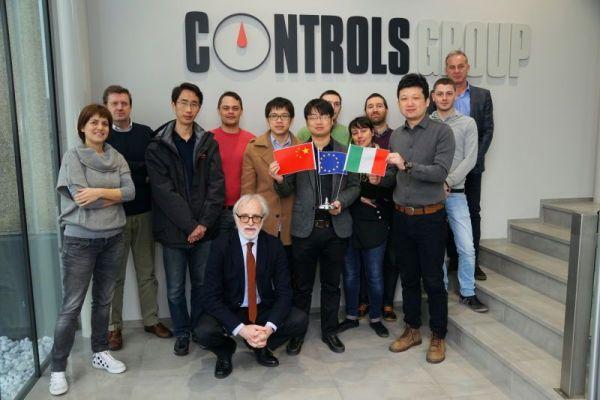 2016平博app科技赴Controls公司进行技术交流