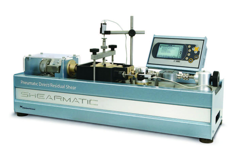SHEARMATIC高级可编程气动直剪残余剪切试验仪
